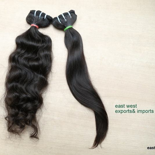 Human Hair Not Processed Not Chemically Altered Smooth and Easily Style able,Shed Free and Tangle Free
