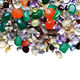 100% Natural mix gems faceted mixed shapes genuine loose gemstone