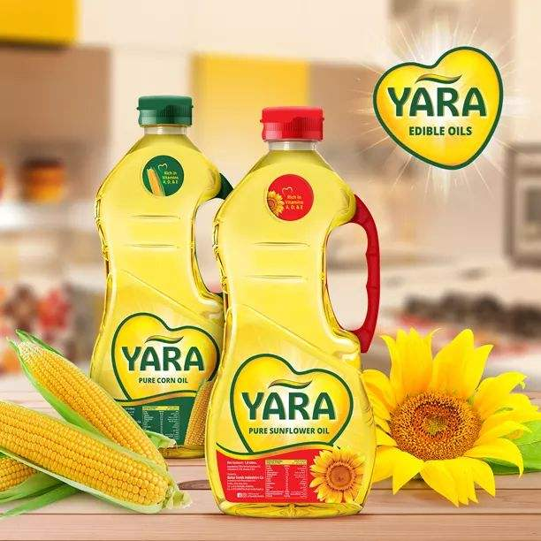 100% Pure and Refined Edible Sunflower Cooking Oil