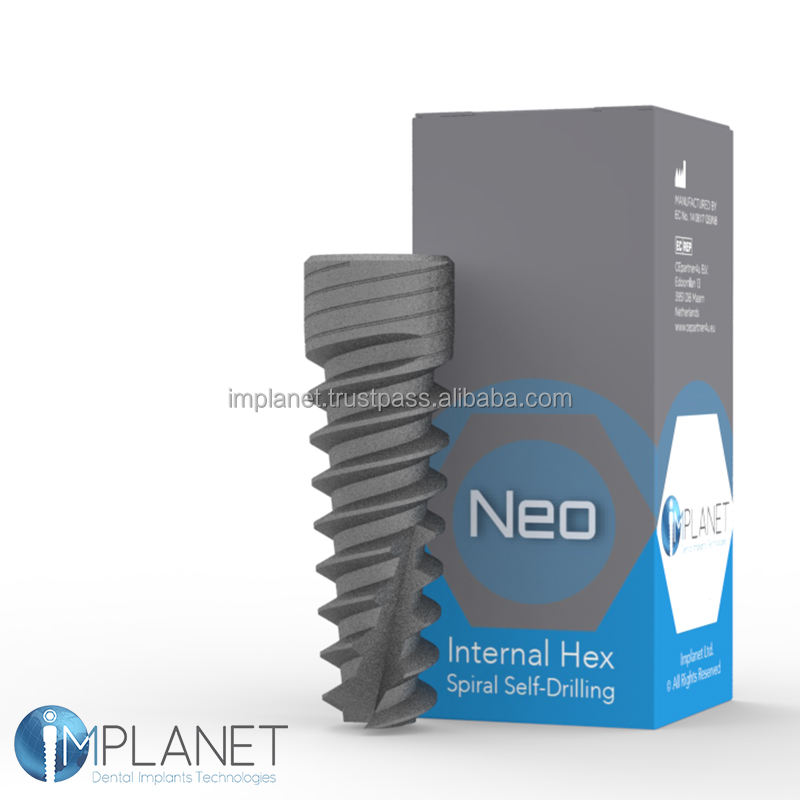 NEO Spiral Self Drilling Dental Implant - Internal Hex