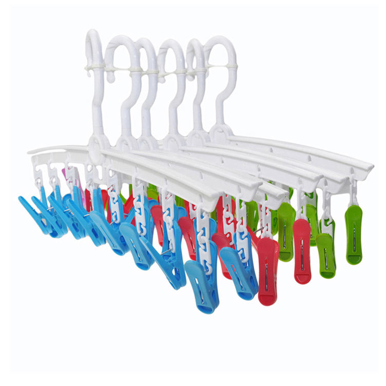 Amazon Top Seller 2020 New Products High Quality Clear Plastic Clothes Hanger