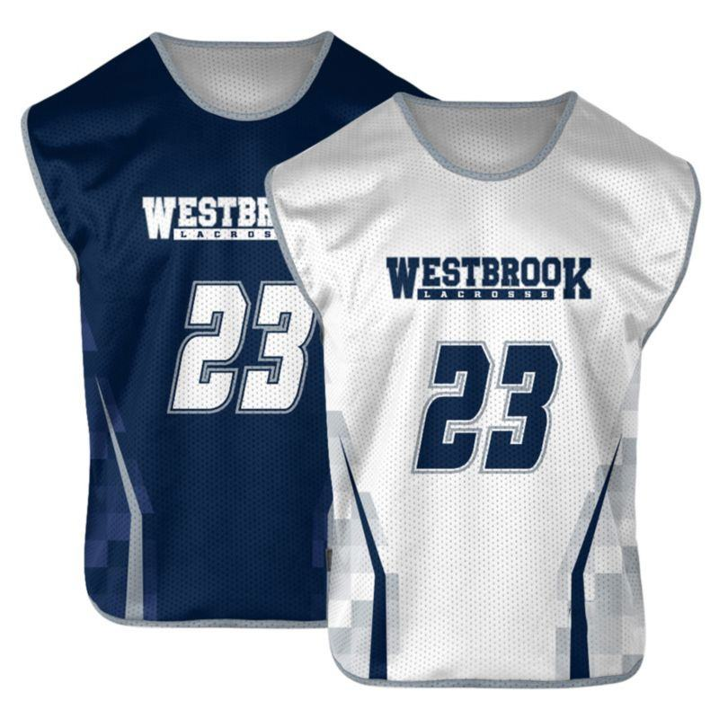 Pro Sublimada Personalizado Pinnies <span class=keywords><strong>Lacrosse</strong></span>