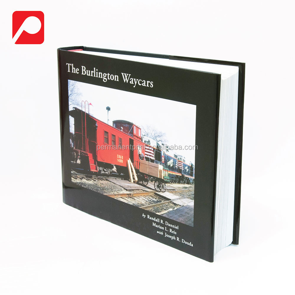 High Quality Railway Case Bound Printing Book
