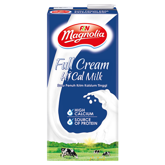 F&N Magnolia UHT Full Cream Milk Pack