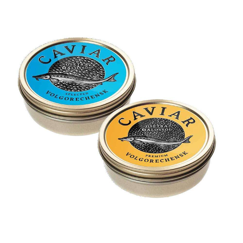 Russian black sturgeon caviar