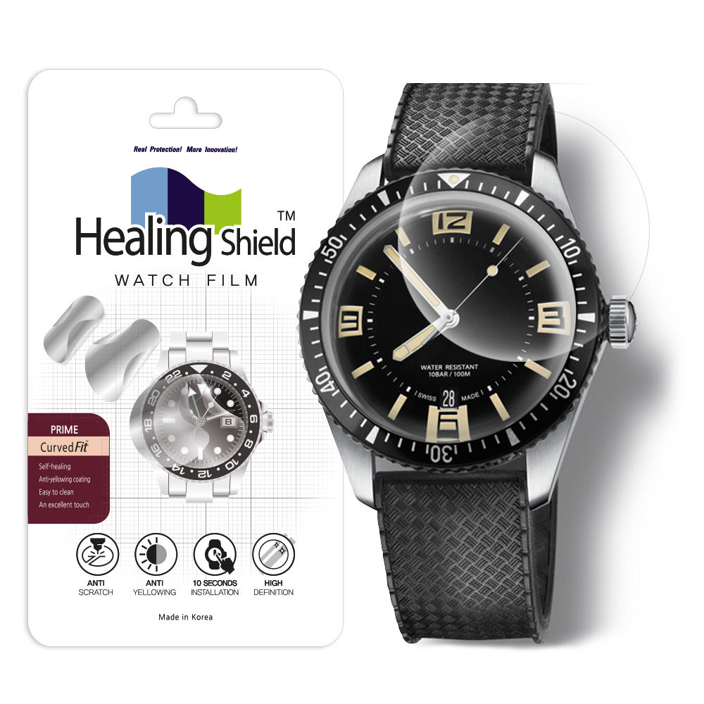 Smartwatch Screen Protector Film for Healing Shield Prime Curved Flat Wrist Watch Analog Watch Glass Screen Protection Film