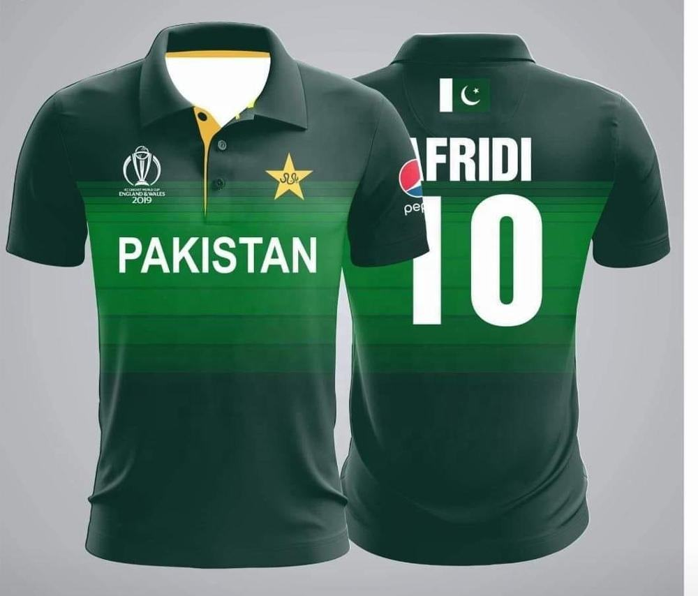 Pakistan cricket team kit / Shirts for world cup 2019 England