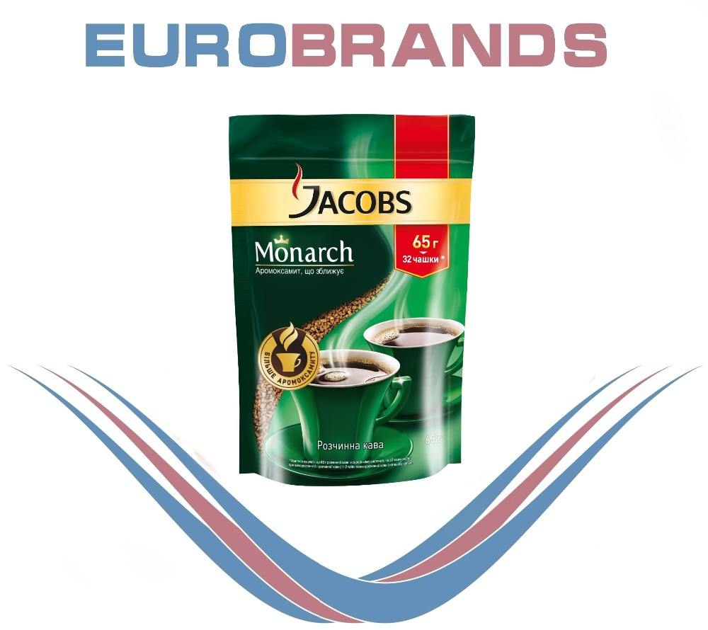 JEU Jacobs soluble coffee Monarch Refill 65 g