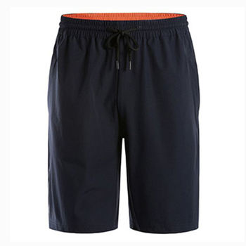 OEM 100% cotton sports running shorts for men Outdoor Summer Training Loose Large Size Shorts