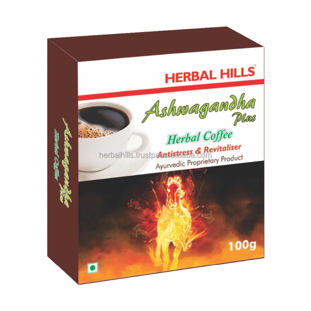 Ashwagandha extract Herbal Coffee, power coffee for men,