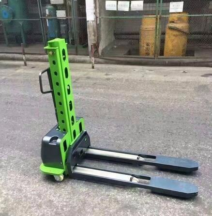 New Arrival 500kg Electric Self Loading Van Stacker Self Lift Pallet Stacker