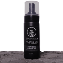 Volcanic Earth MEN'S CLEANSER AND SHAVING FOAM (With Tamanu Oil) 5.07oz /150ml