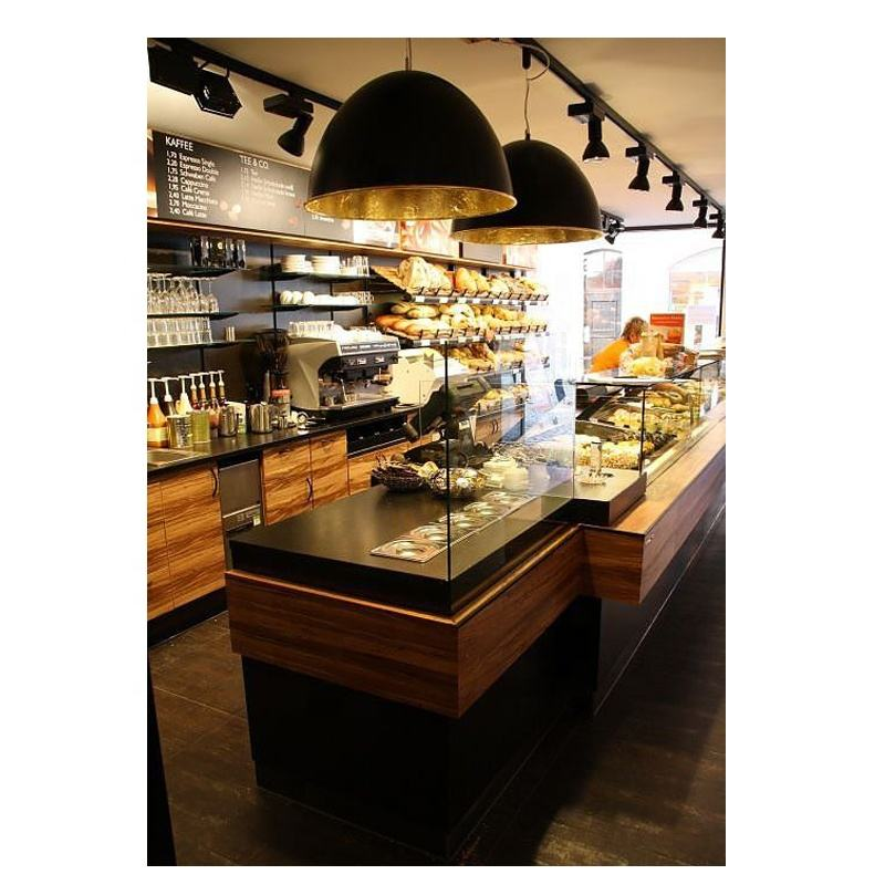 Natural feeling design bakery/cafe sandwich shop display