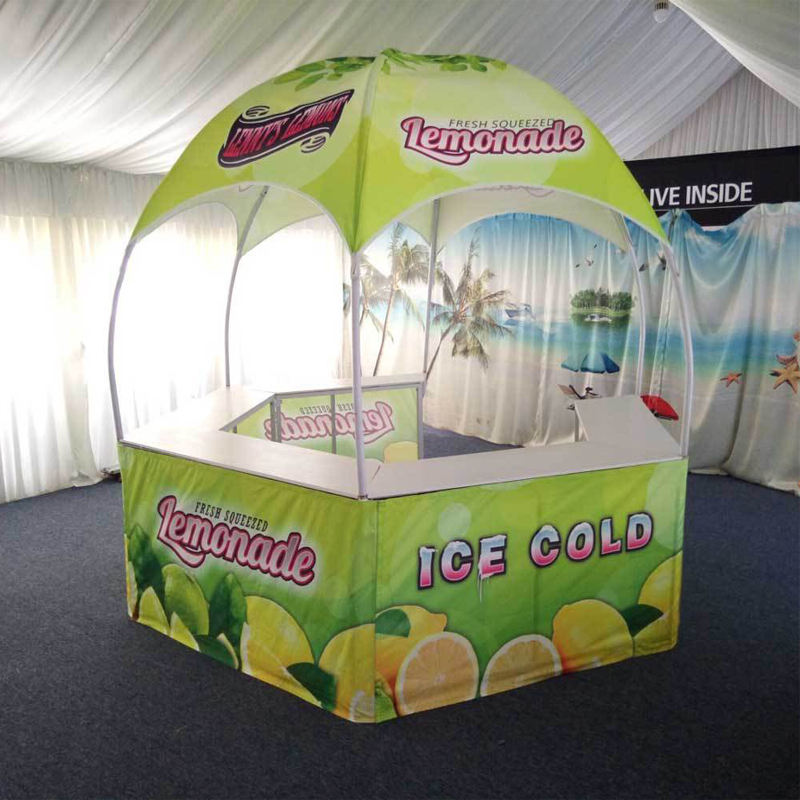Outdoor dome advertising 600D oxford fabric pop up canopy promotional tent