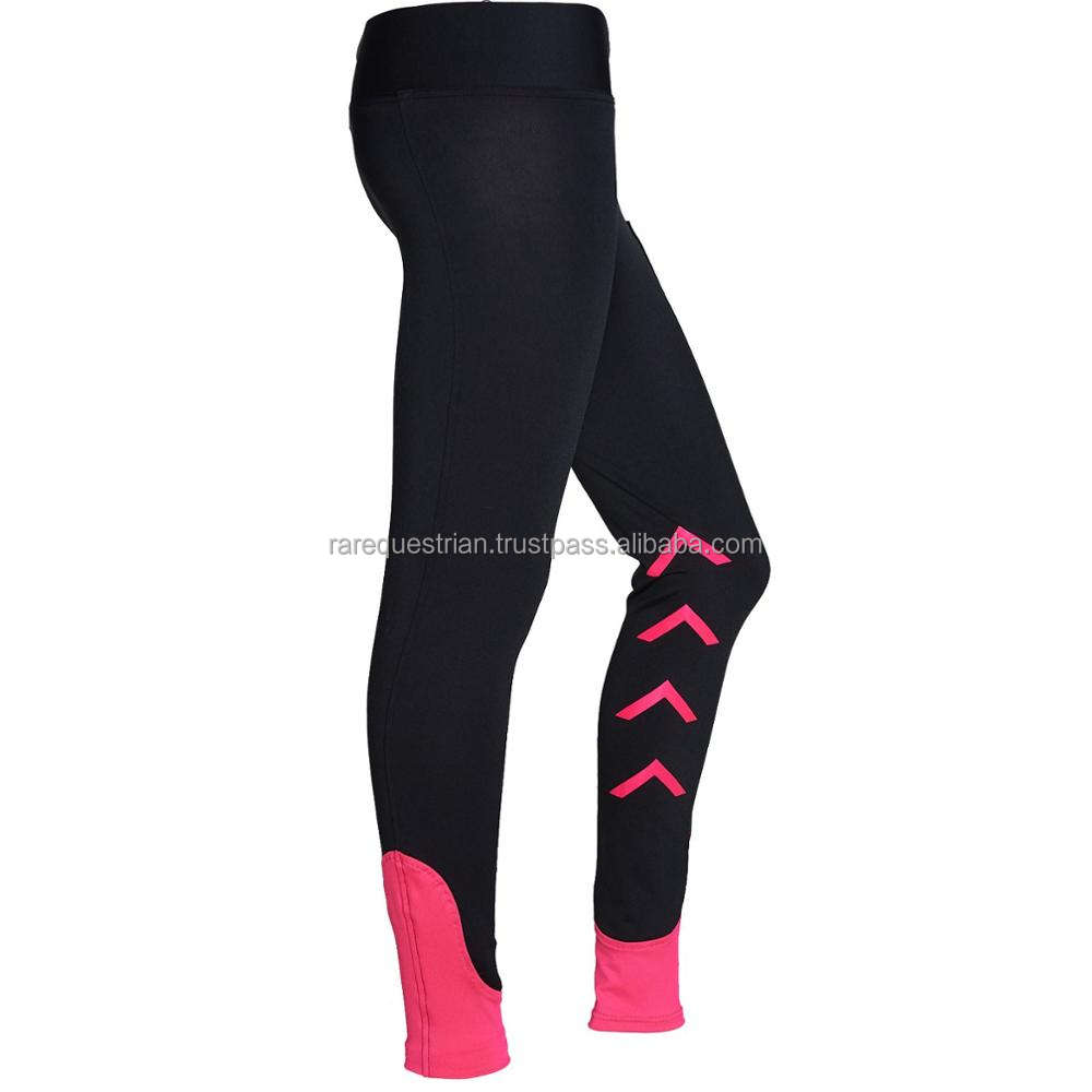 4 Way Stretch Horse Riding Tights Leggings Equestrian