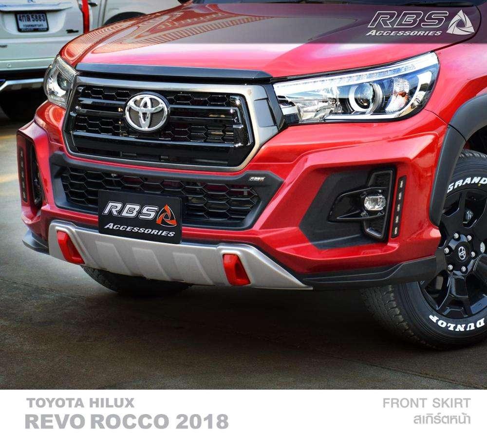 Black Line Front Bonnet Hood Trim For Toyota Hilux Revo SR M70 Genuine OEM 16 17