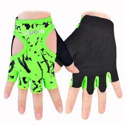 Custom Green Women Fitness gloves 2017