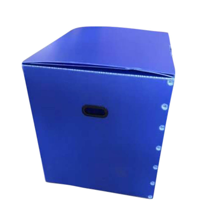 Collapsible applied to supermarket pp corrugated box
