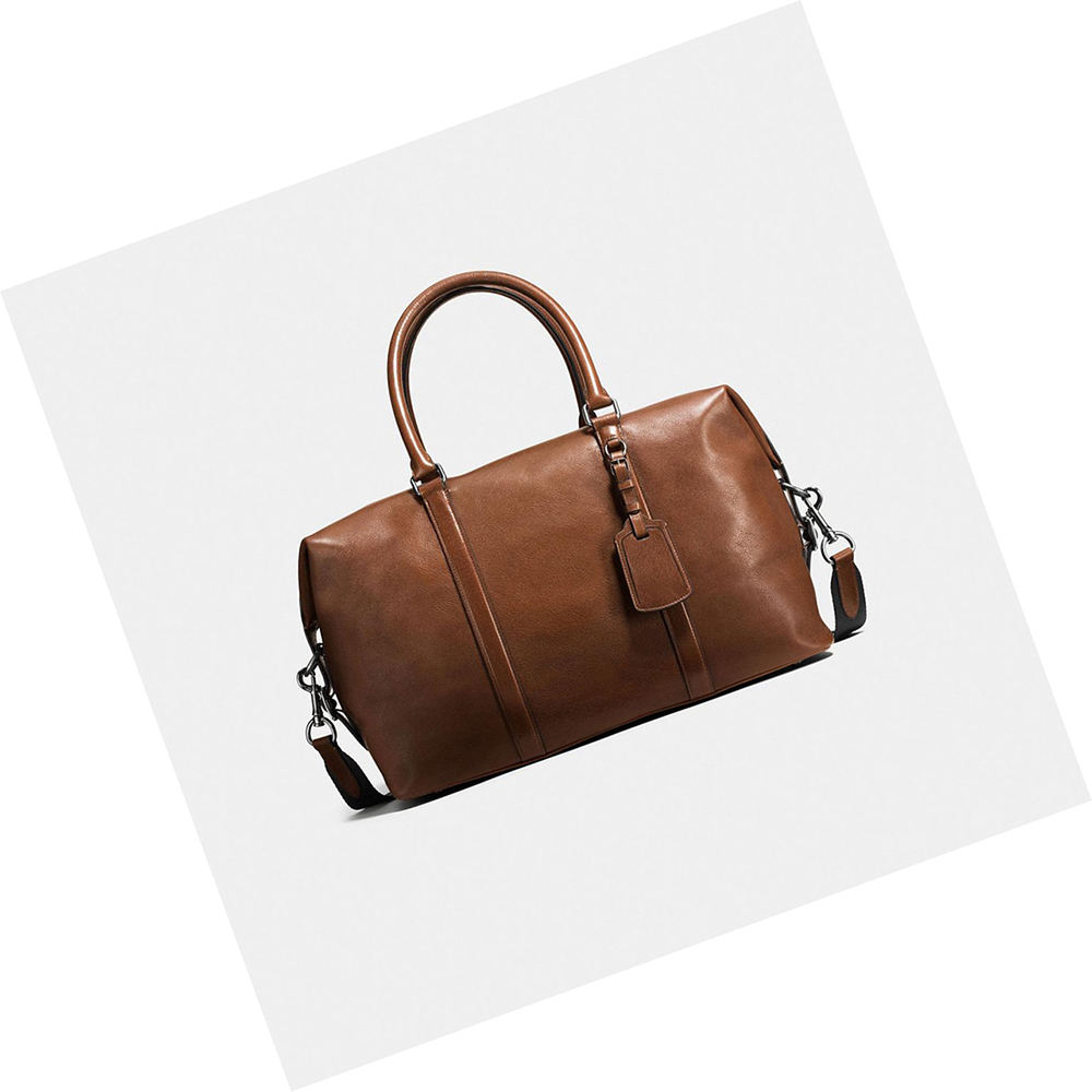 handmade real leather mens weekend mini carry on bags travelling luggage