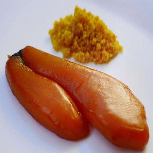 Frozen Seasoned Mullet Roe