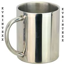 double wall stainless steel vacuum mug