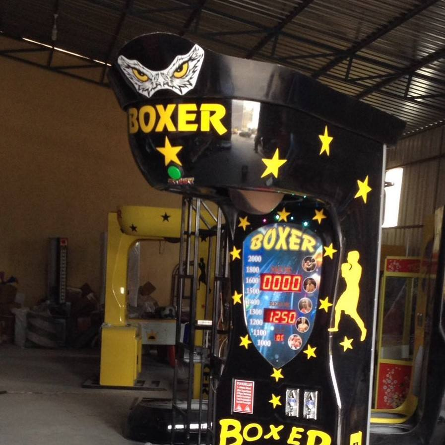 BOXING GAME MACHINE COIN OPERATE MACHINE AMUSEMENT MACHINE