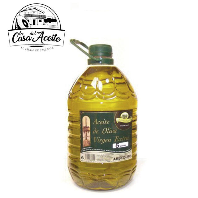 Spanish extra Arbequina Virgin Olive Oil 5L supplier | La Casa del Aceite