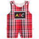 Cute back to school baby smocked romper clothing for boys