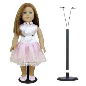 35cm Stand Doll Accessories Adjustable Plastic Display Stand For Teddy Bear