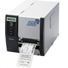 Toshiba SX5 Barcode Thermal Labelling detectable tags Printer