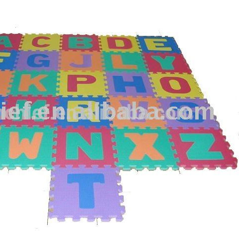 Large Soft Foam Playmat Alphabet Puzzle Play Mat Jigsaw 26pcs