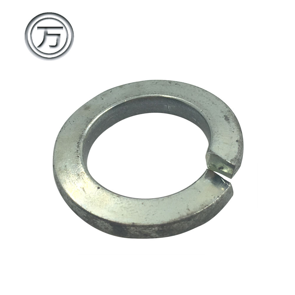 Zinc plating round curved spring lock washer