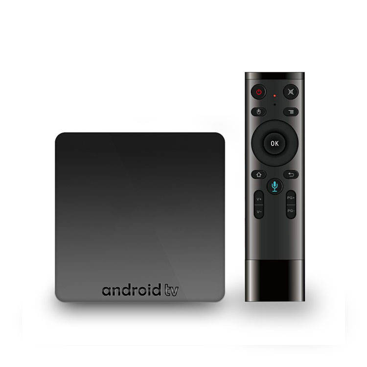2018 Nieuwe Aangekomen Android Smart Tv Box Google Voice AX7 Androidtv OS 2 + 16 gb Tv box Ondersteunt Netto -flix 1080 p