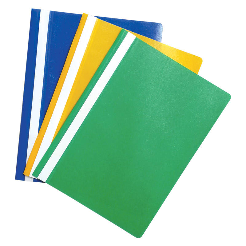 High Quality A4 PP Standard Quotation Files (Without Back Pocket)