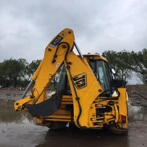 Digunakan mini backhoe loader jcb 4cx, jcb 4cx backhoe loader