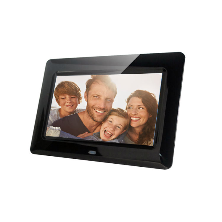 7 inch wall photo frames designs digital plastic picture frame
