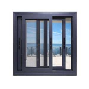 USA Standard house windows grill design Philippines glass aluminum window frames price