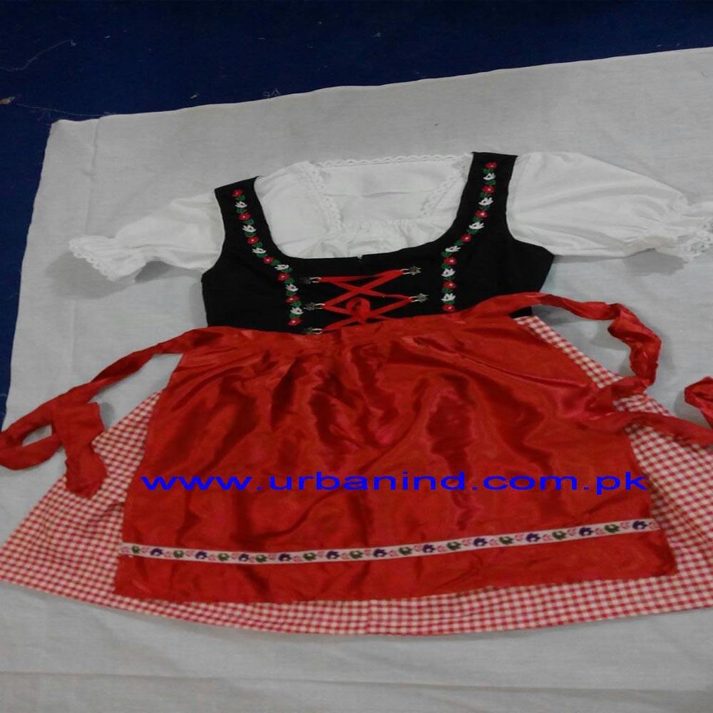 Bahasa Jerman Tradisional Dirndl Dress