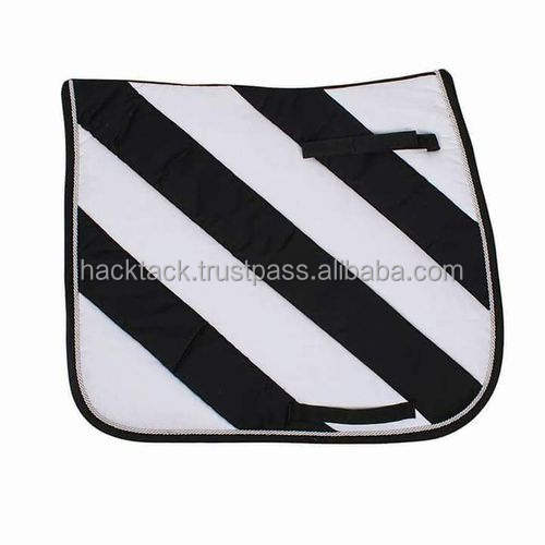 White Horse Equipment Saddle Pad Saddle cloth Dressage Horse Riding Accessories - saddle pad high quality Soft Equestrian