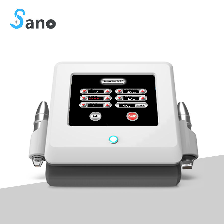 manufacturer portable fractional rf microneedle Sano lasers machine/radio frequency beauty
