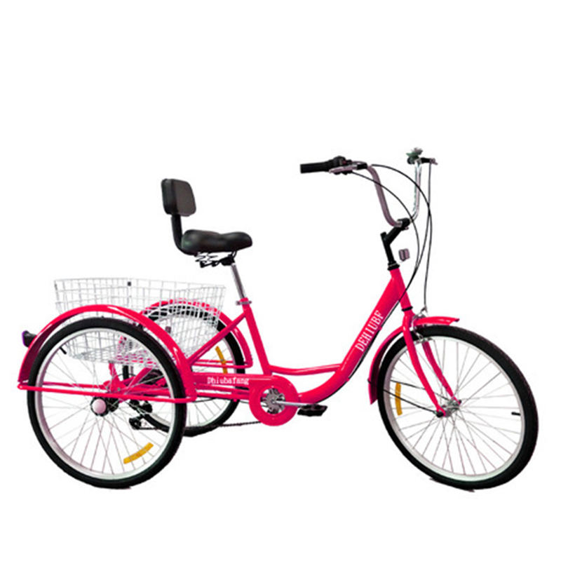 Jack 2019 High quality adult big wheel tricycle factory price/tricycle bicycle adult /aluminum used adult tricycle sale