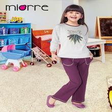 Miorre OEM Wholesale %100 Cotton Kids Girls Sleepwear Printed Pajamas Set