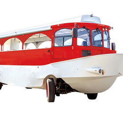 Floating bus trolley boat amphibian boat