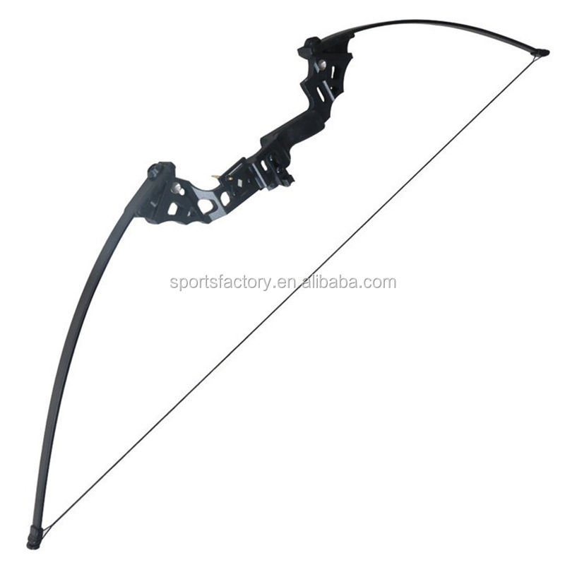 Aluminum riser archery takedown archery recurve bow and arrow for adult