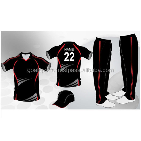 Stilvolle Cricket Team Cricket Uniform