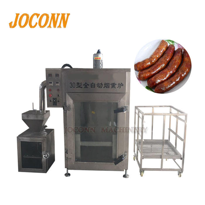 Bacon gerookte oven/vlees worst rookmachine/zalm rook huis oven