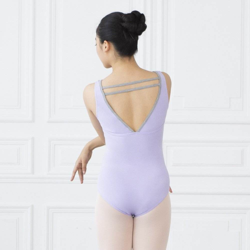 Wholesale tank leotards gymnastics dance pinch front ballet
