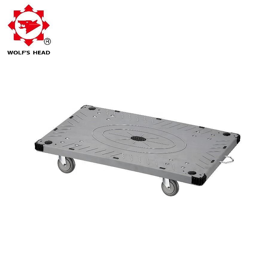 Polyethylene Plastic Platform Cart Transport Moving Dolly