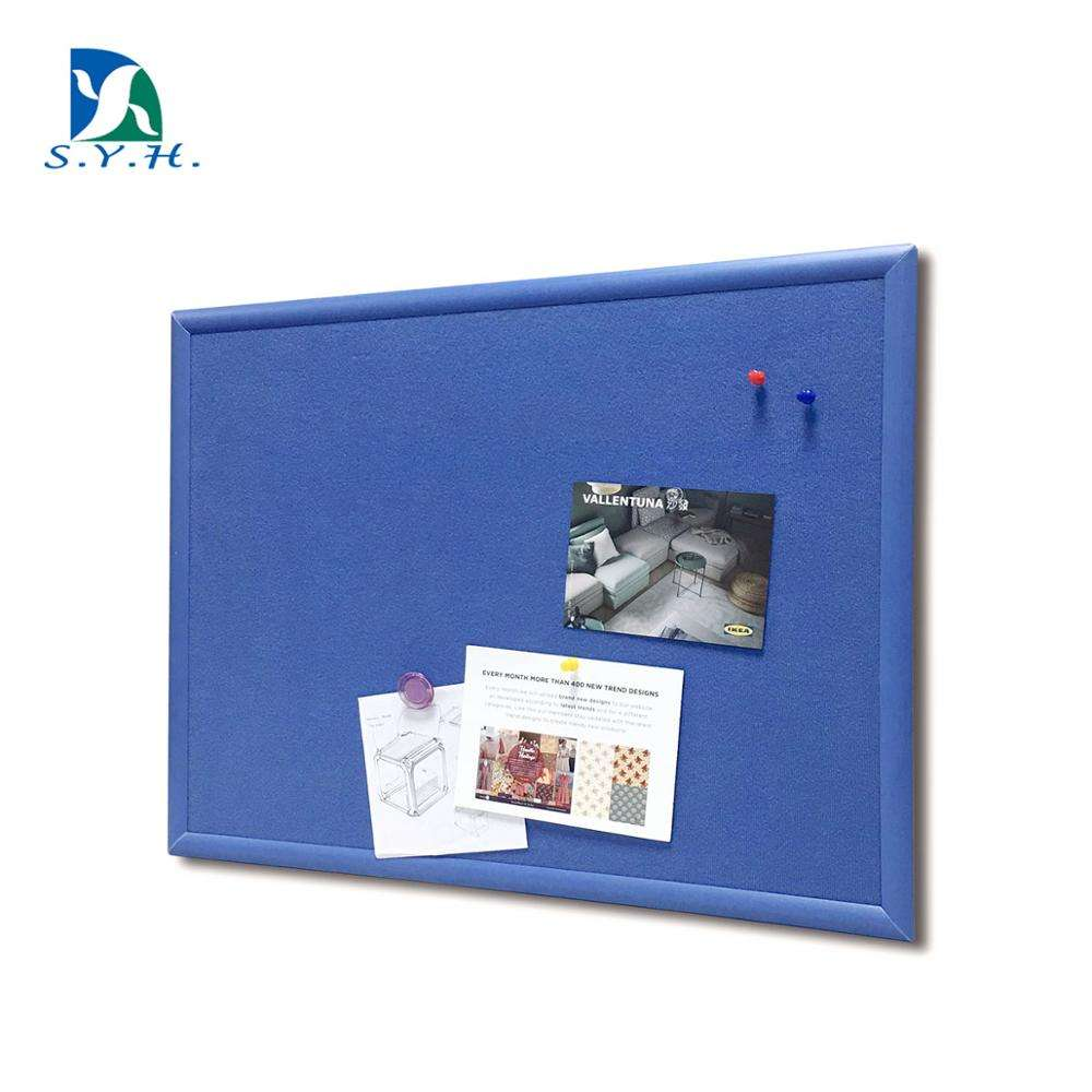 45*60CM fabric board bulletin board with plastic frame