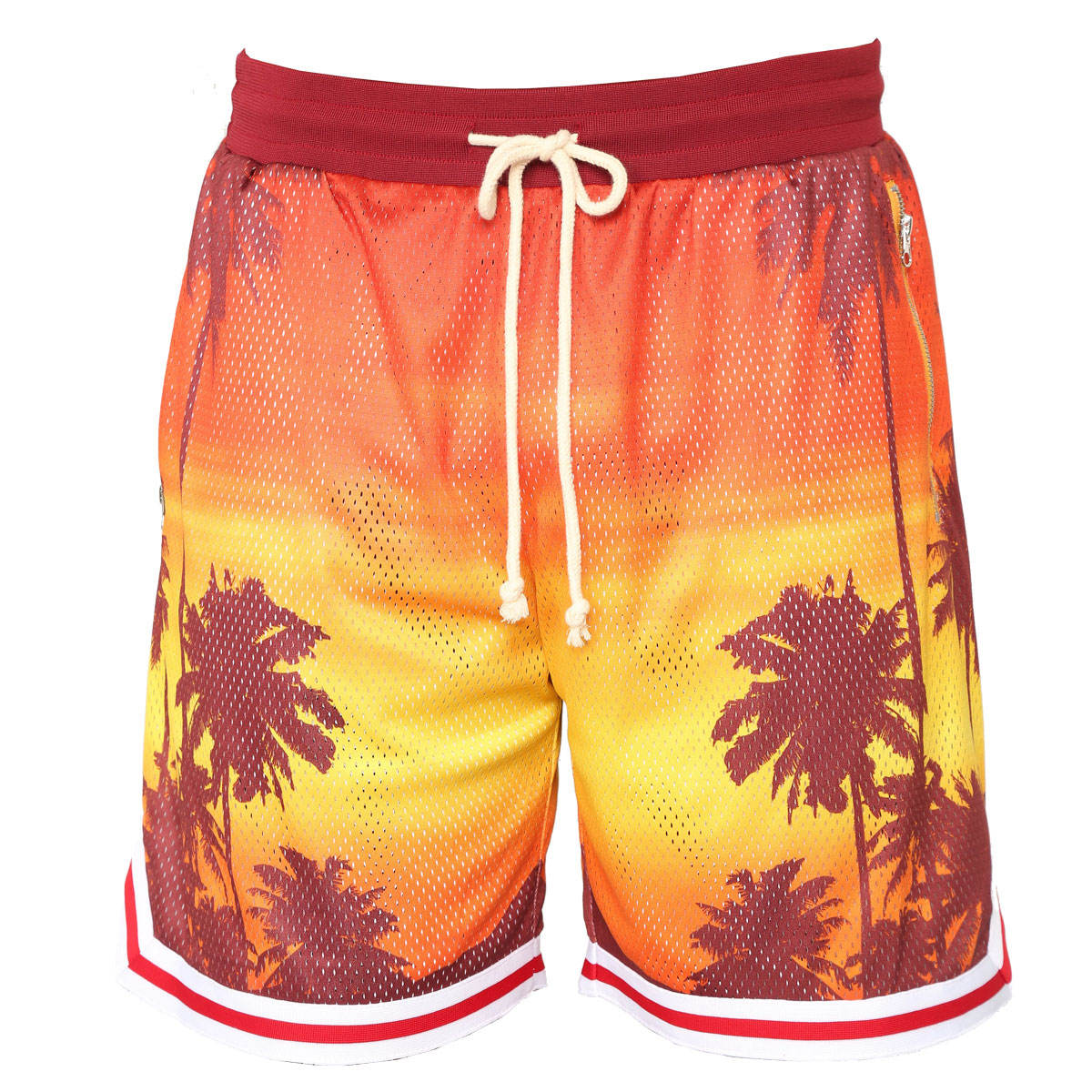 Dri Fit Mesh Stof Sublimatie Afdrukken Shorts/basketbal running shorts
